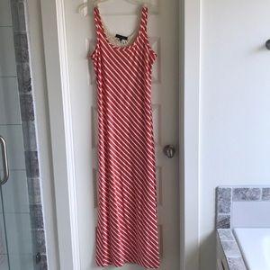 Sanctuary coral maxi dress